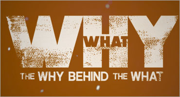 Establishing the WHY behind the WHAT
